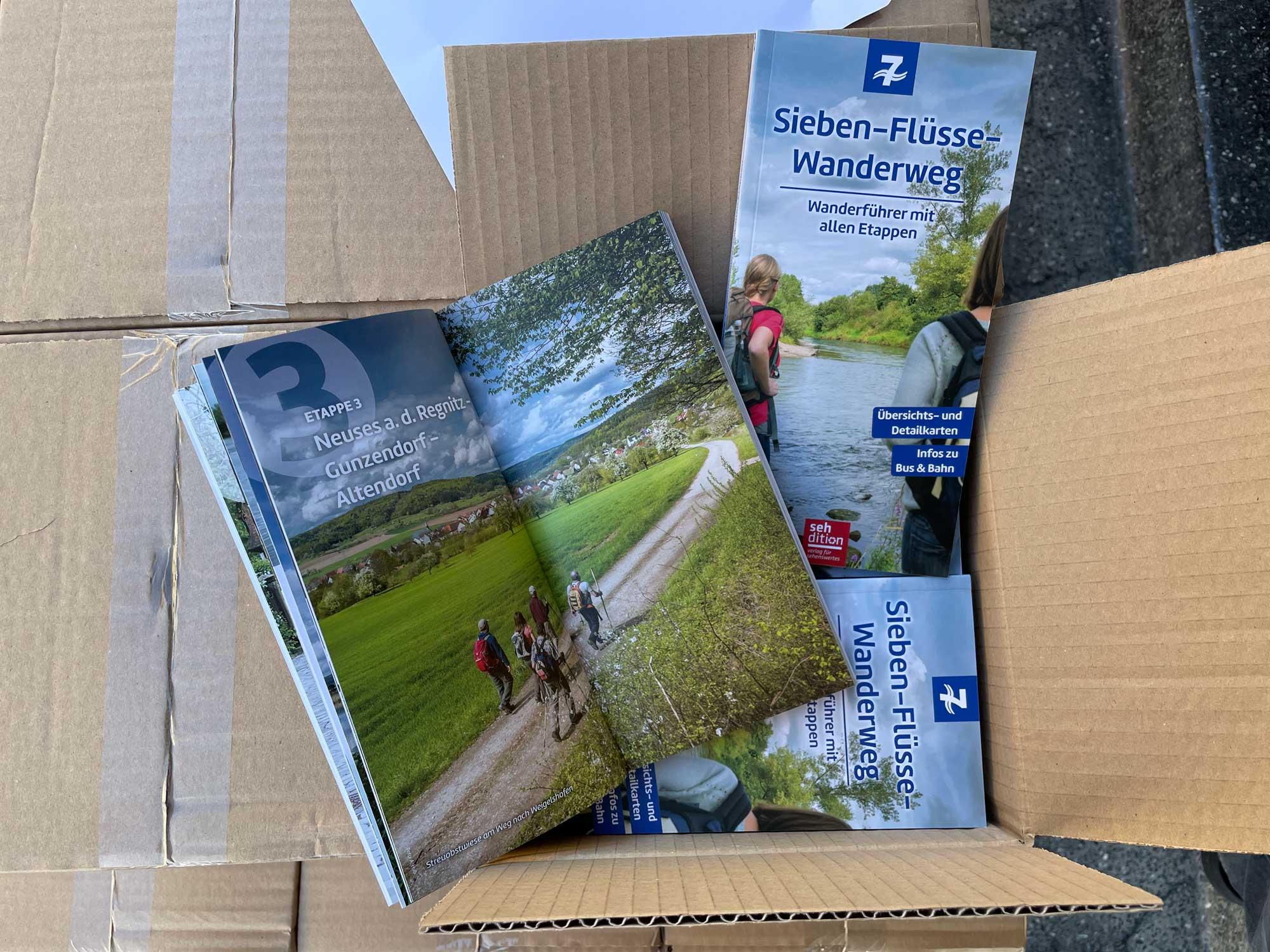 Der Sieben-Flüsse-Wanderführer von sehdition – Verlag für Sehenswertes